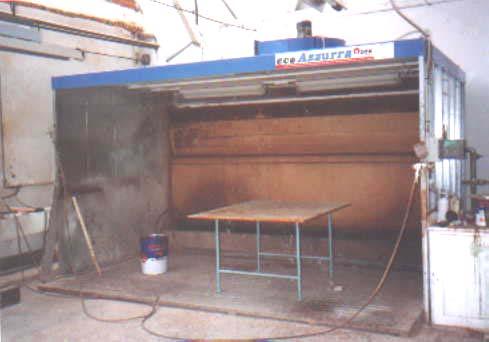 Stříkací kabina